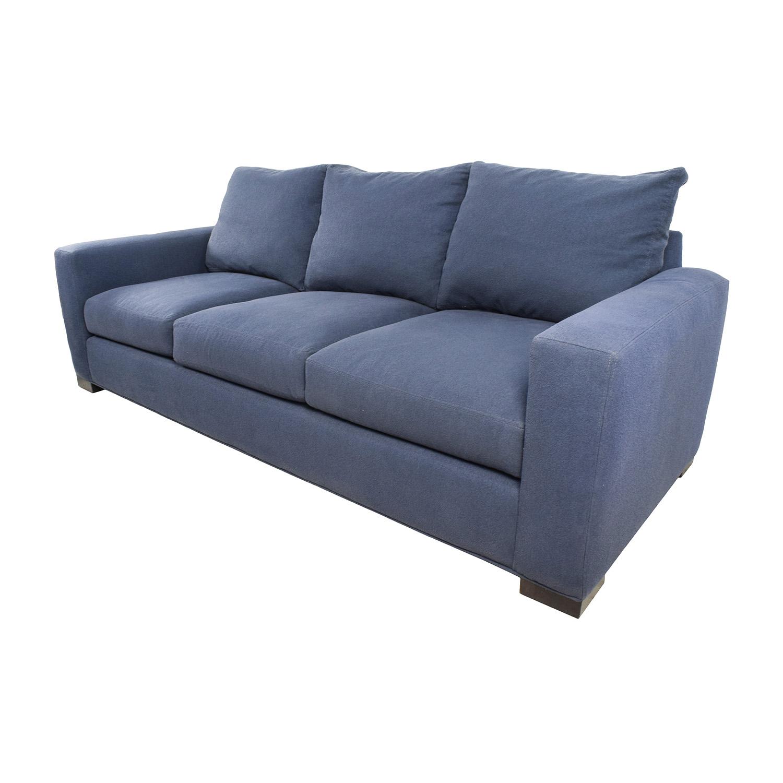 room and board metro sleeper sofa euro futon bed 54 off blue sofas