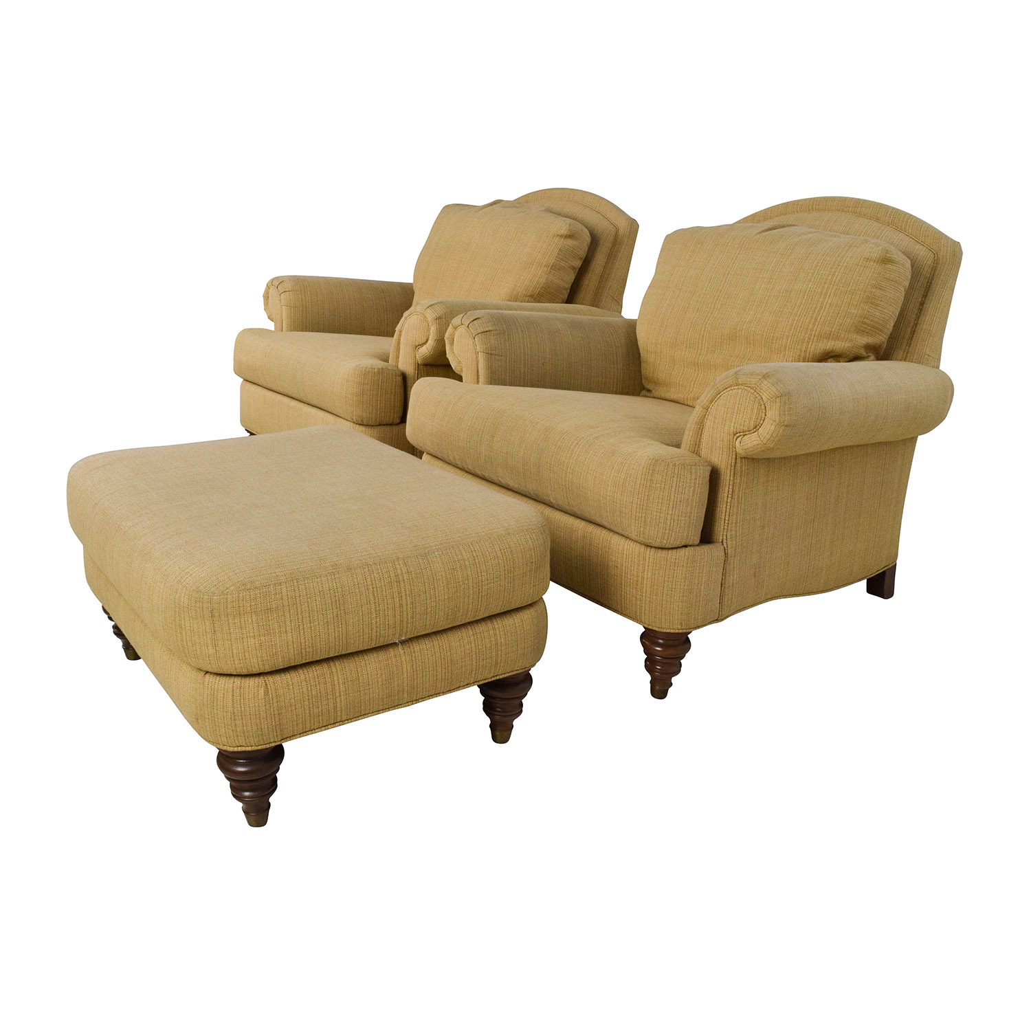 Overstuffed Chair And A Half Overstuffed Chairs And Ottomans