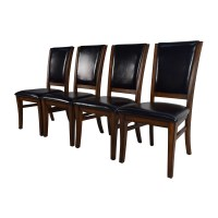 Leather And Wood Dining Chairs - Dining room ideas