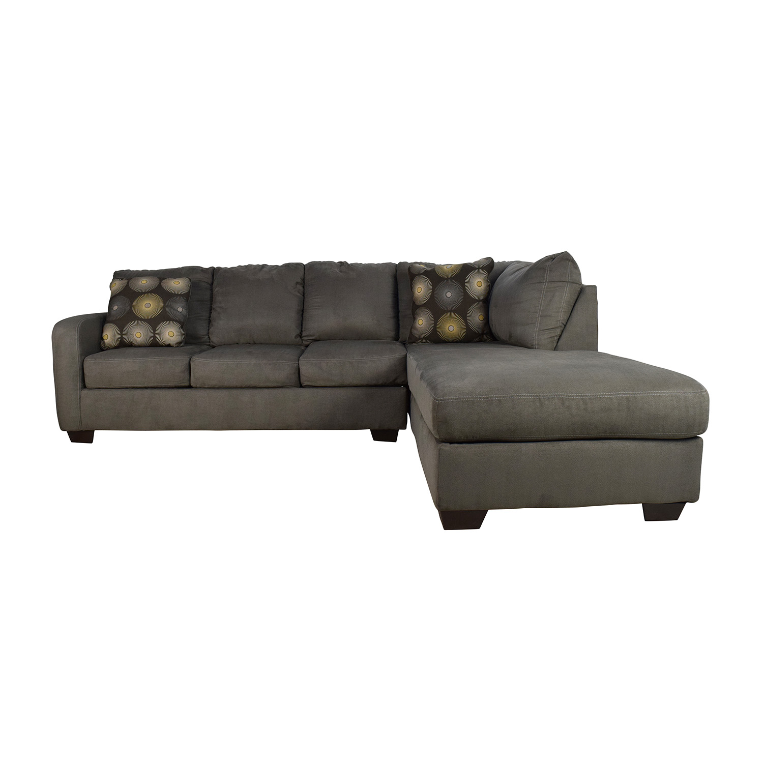 gray sofa navy chairs black wicker outdoor waverly new suede by american thesofa
