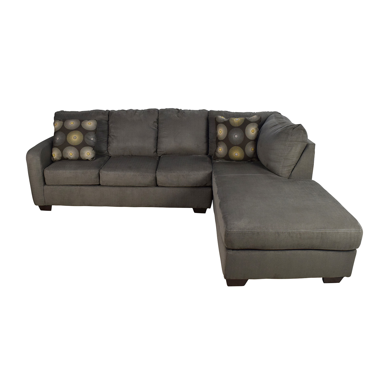 second hand leather sofa for sale rowe sectional review sectionals used