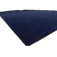 80% OFF - Empress Carpet Empress Navy Blue Carpet / Decor