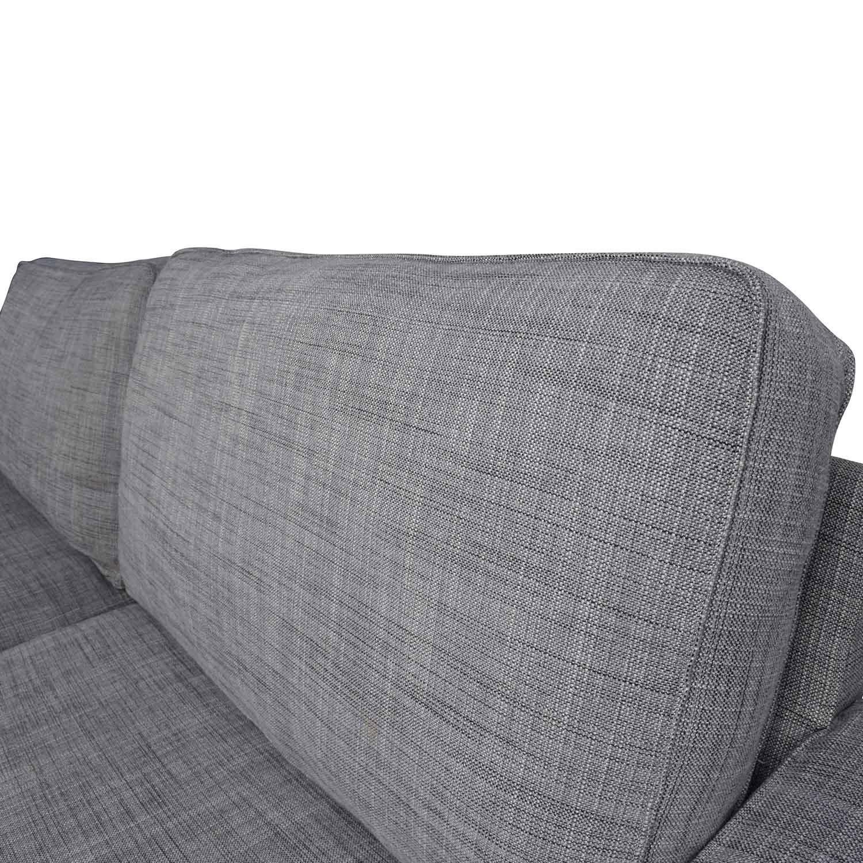 38 OFF  IKEA IKEA KIVIK Gray Sofa  Sofas