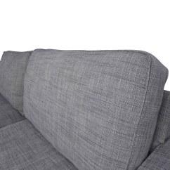 Ikea Gray Brown Sofa Table Chair Restaurant 38 Off Kivik Sofas