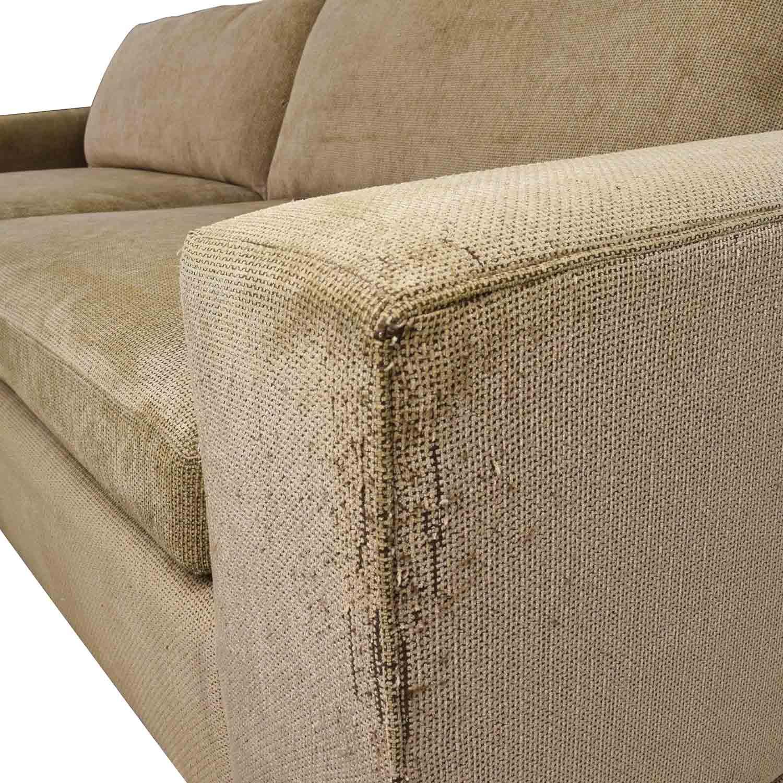 tan fabric sofa sectional sleeper chicago sofas thesofa