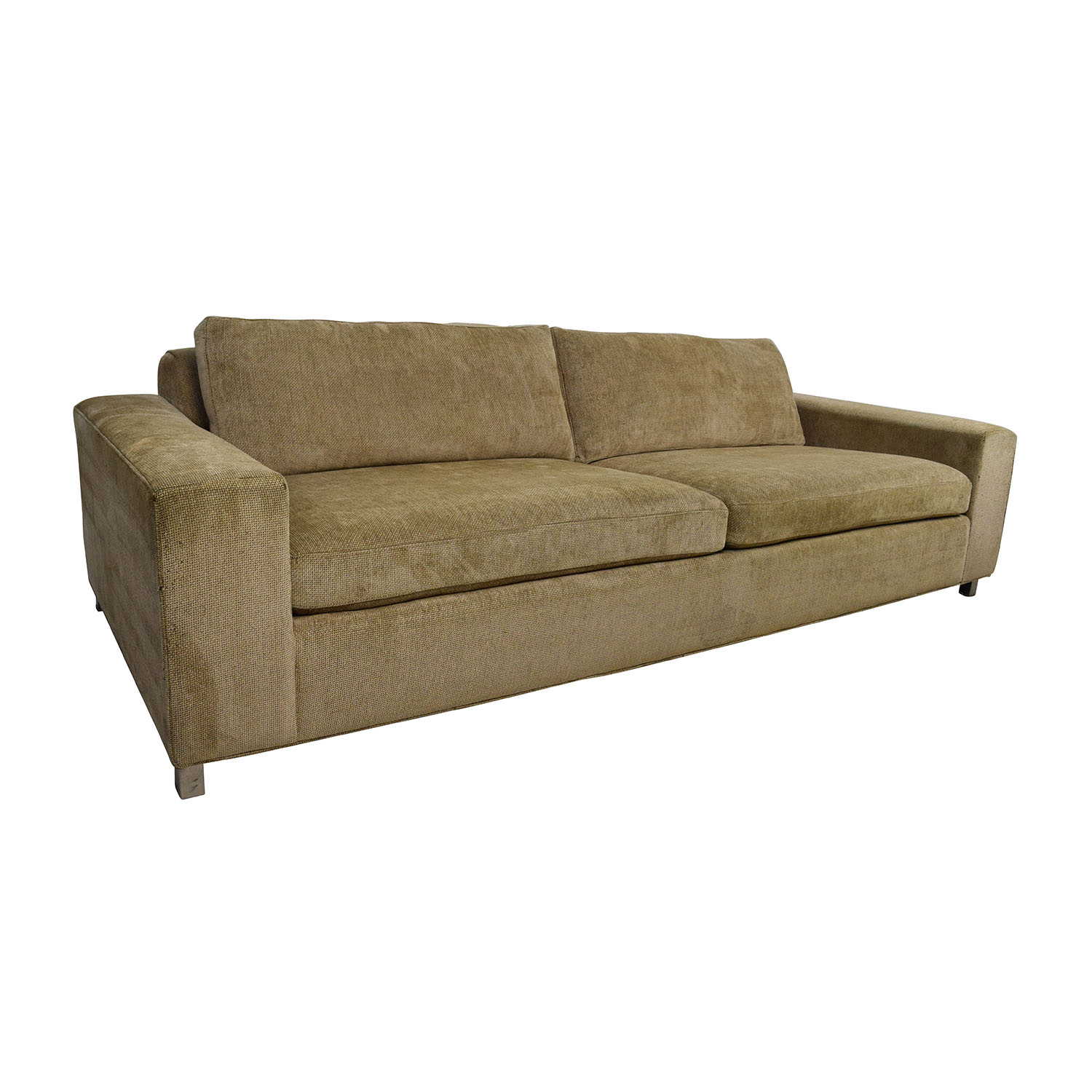 tan fabric sofa how to wash a material 89 off room and board gold