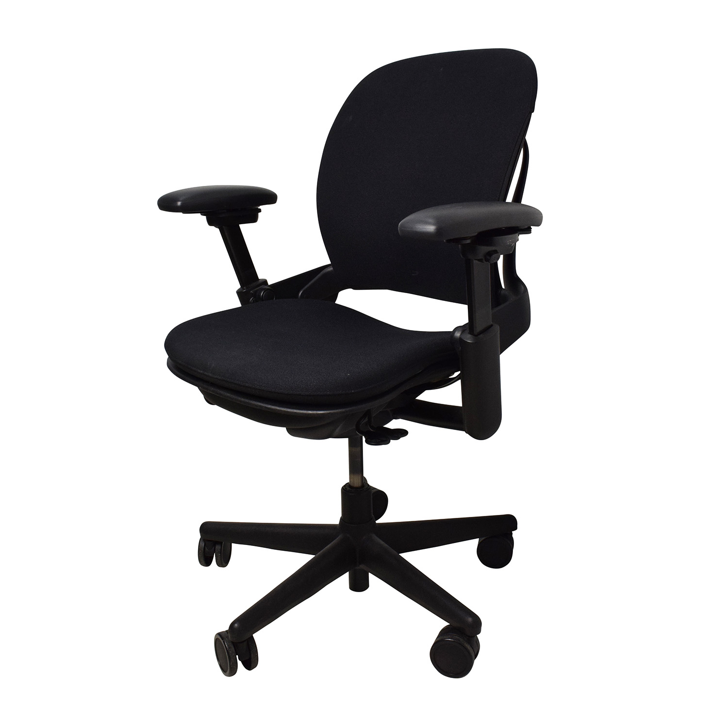 Black Desk Chair 71 Off Adjustable Black Office Desk Chair Chairs