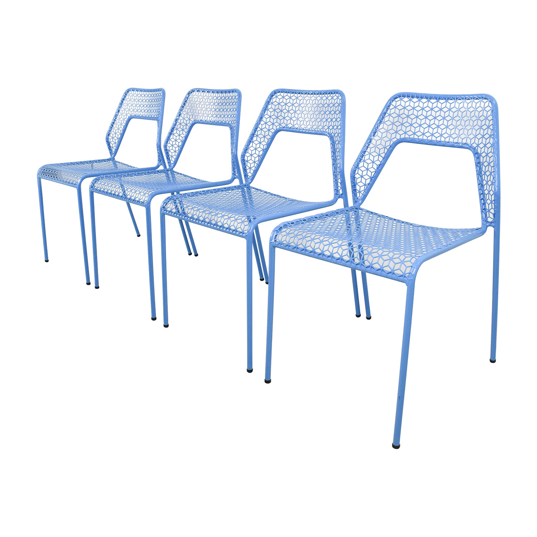 blue dot chairs antique childs rocking chair 66 off blu hot mess chipper steel mesh