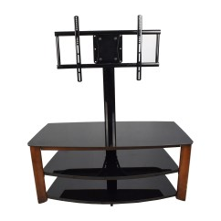 Chair Stand Unit Parsons Faux Leather Chairs 87 Off Walmart Tv With Mount Storage