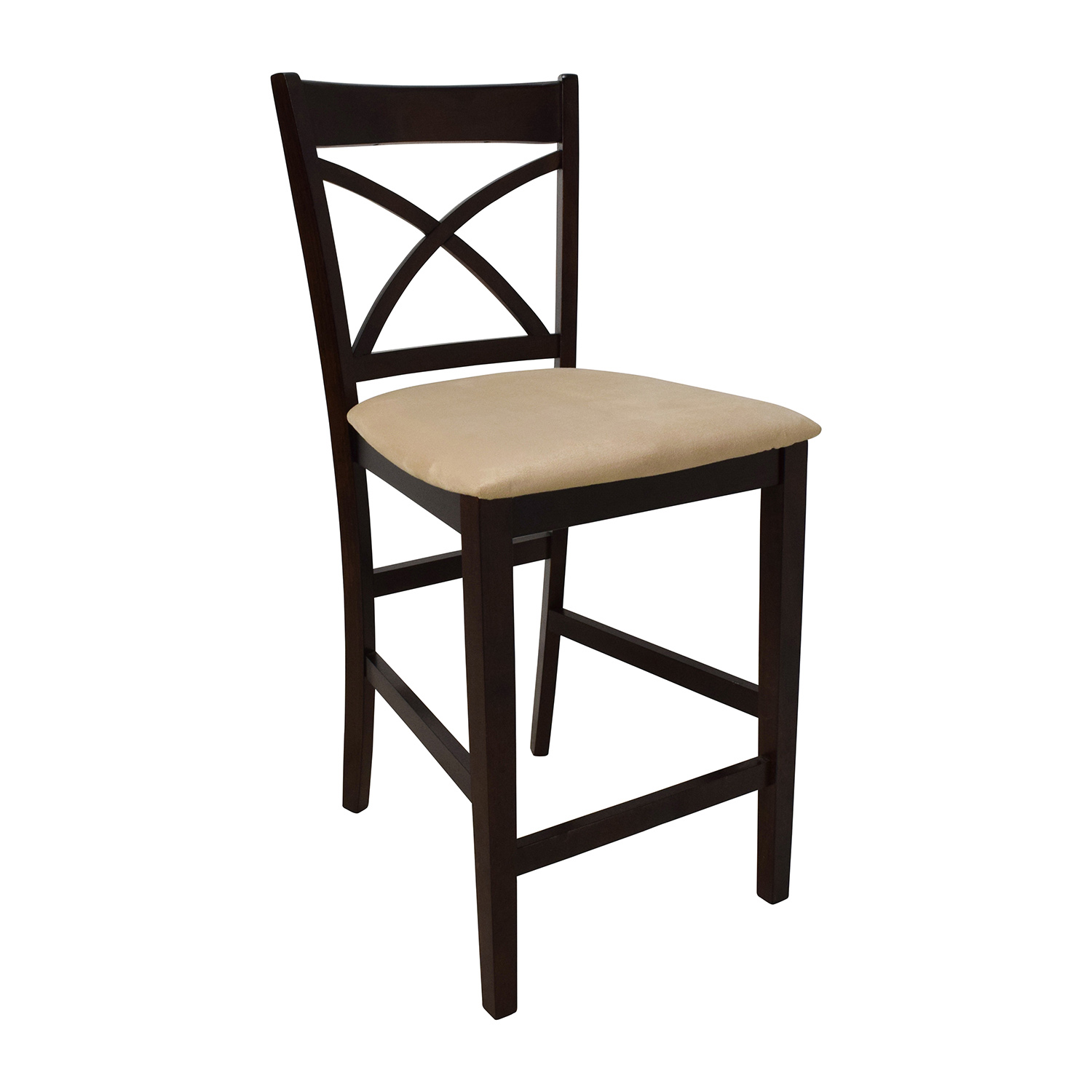 tall kitchen tables and chairs rustic rocking 53 off counter height glass wood table with four