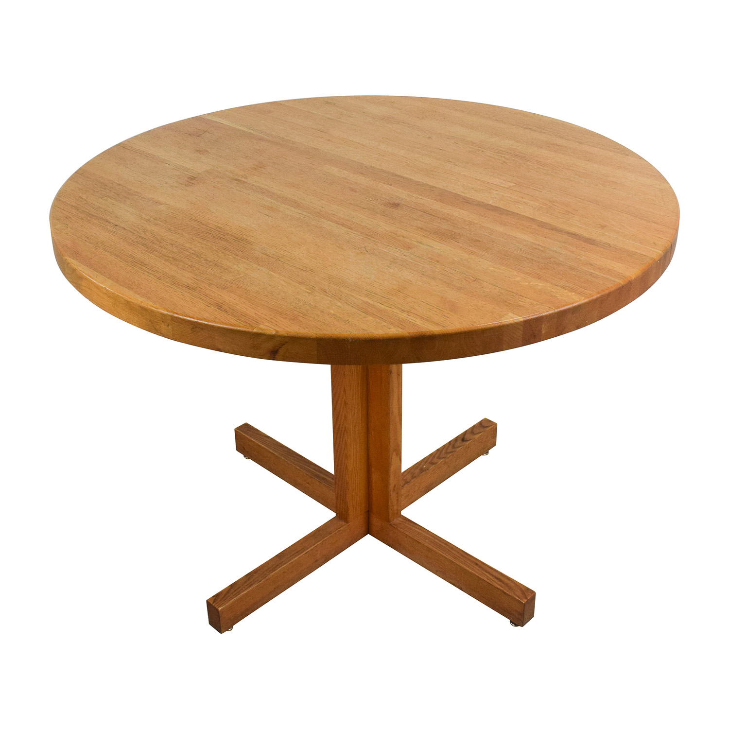 90 OFF  Solid Oak Round Table  Tables