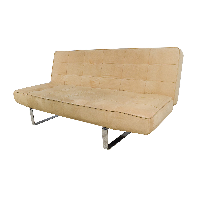 beige sleeper sofa modern wooden set designs images fletcher queen innerspring