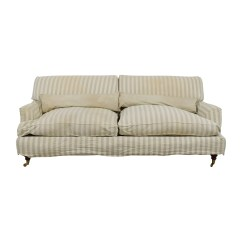 Stripe Sofa Ethan Allen Air Mattress Sleeper Green Striped Vintage 4 Person