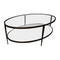 50% OFF - Crate & Barrel Crate & Barrel Clairmont Glass ...