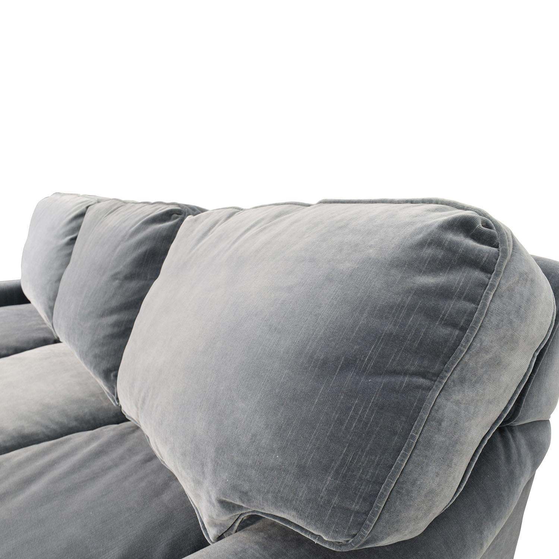 english arm sofa restoration hardware combination 79 off