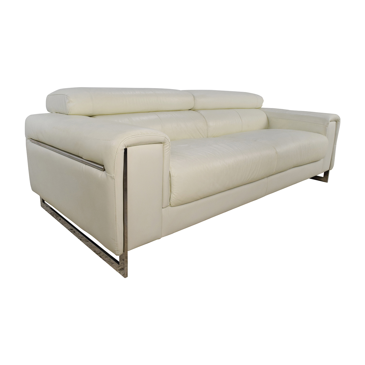 j m paquet sofa billig sovesofa med chaiselong 64 off jnm and soho white leather sofas