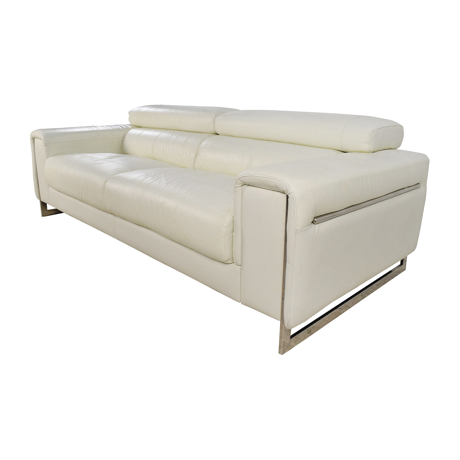j m paquet sofa denim sofas 64 off jnm and soho white leather