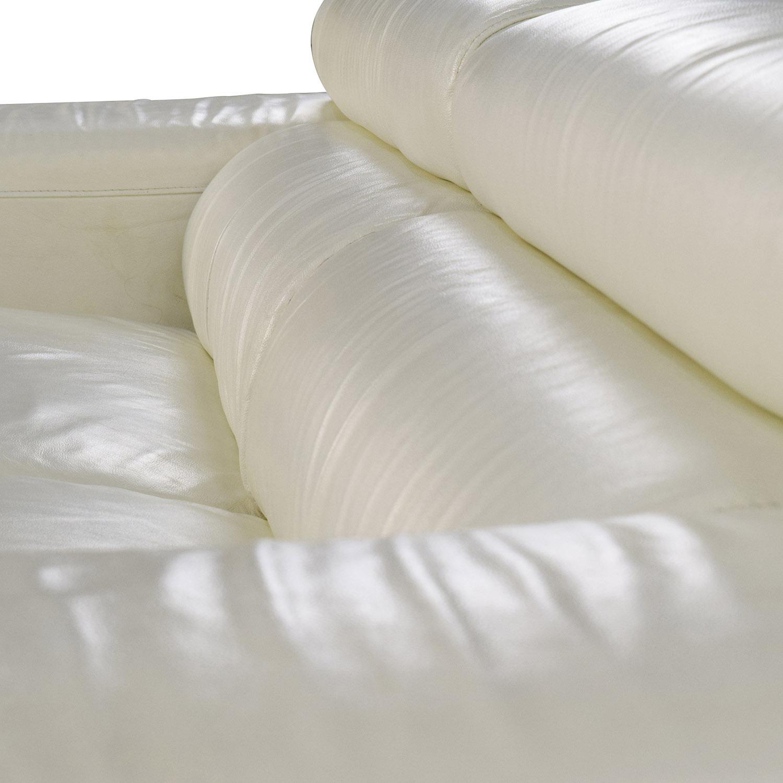 dunham reclining sofa bernhardt furniture 64 off jnm j and m soho white leather sofas