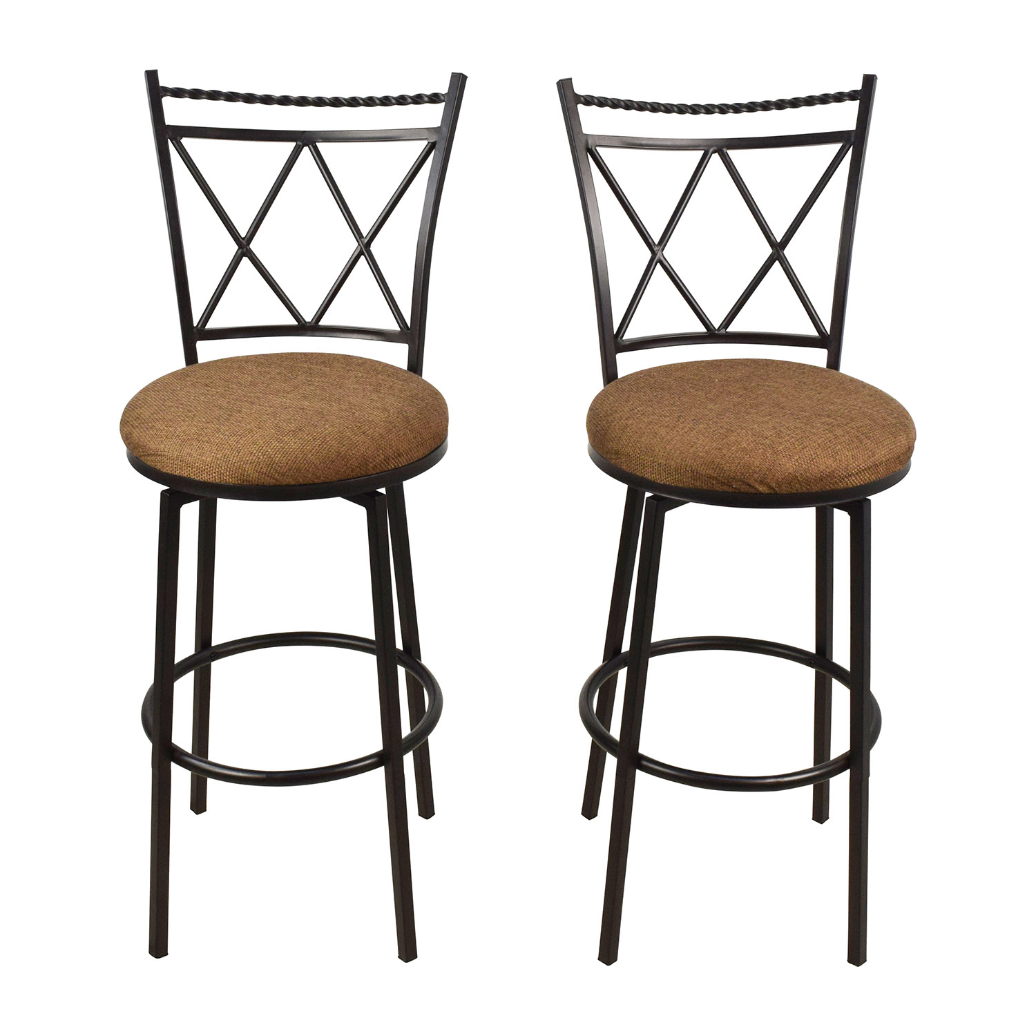 Upholstered Bar Chairs Counter Height Stools On A Budget