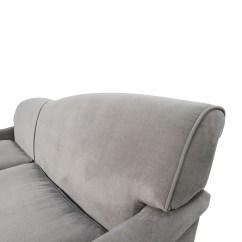 Grey Microfiber Sleeper Sofa Modern Under 1000 50 Off Overstock Mid Century Sofas