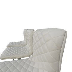 Quilted Swivel Chair Mat 74 Off White Bar Stool Chairs