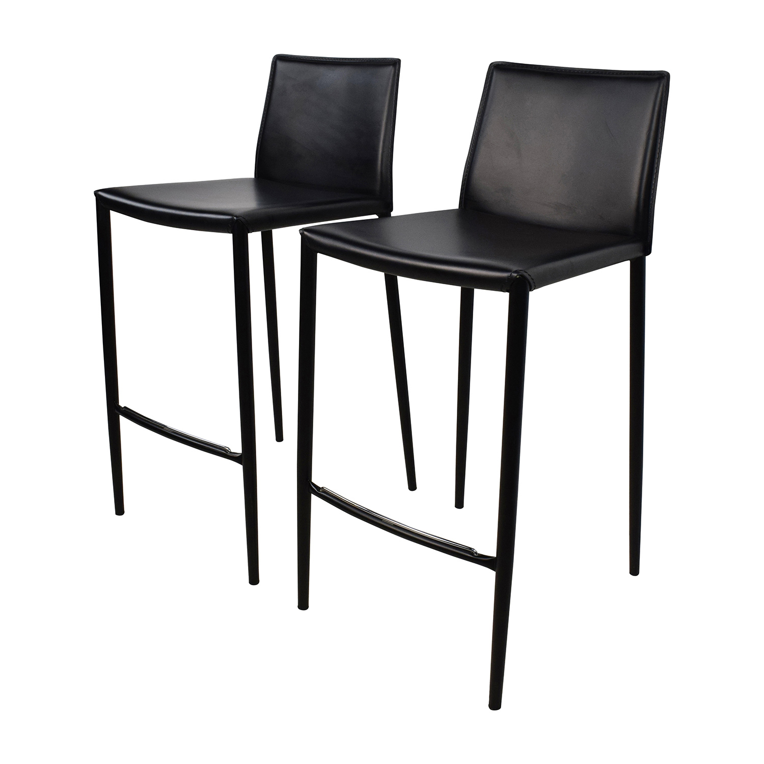 Calligaris Chairs 80 Off Calligaris Calligaris Boheme Black Leather Bar