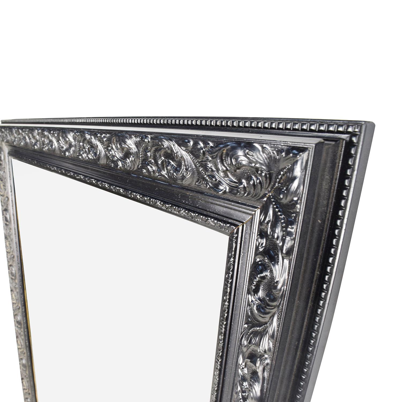 83 OFF  Antique Antique Ornate Frame Mirror  Decor