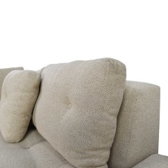 Tufted Sectionals Sofas One Seater Sofa Singapore 79% Off - Freestyle Natural Fabric ...