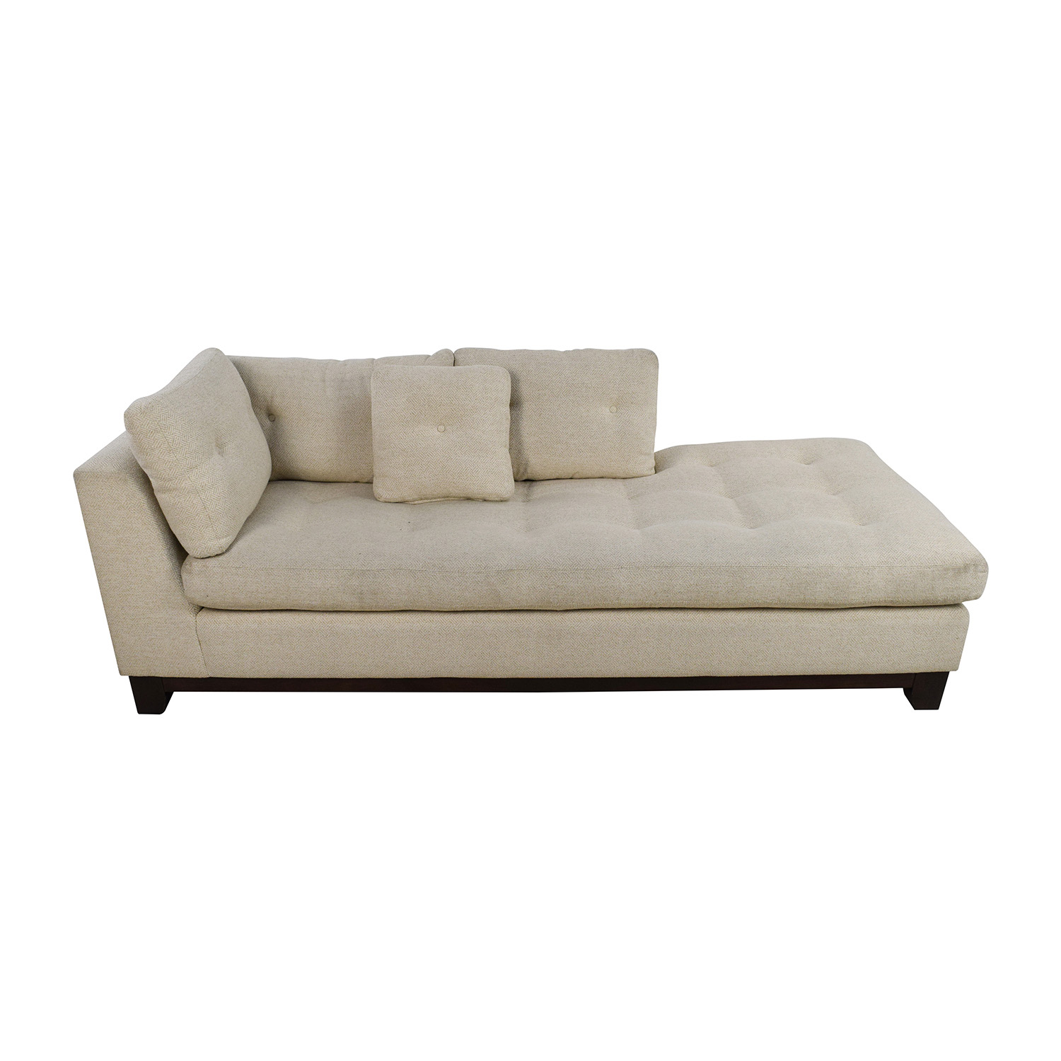 tufted club sofa three seater covers online com chaise lounges ikea thesofa