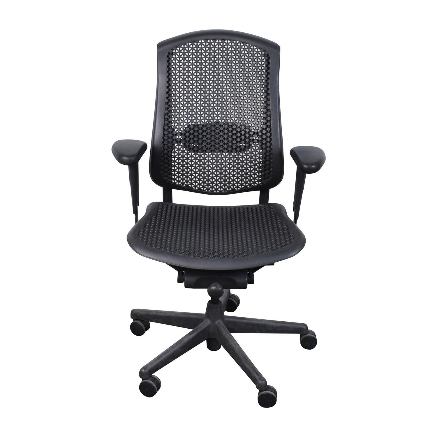 herman miller rolling office chair chairs out of pallets shop craps coffee table