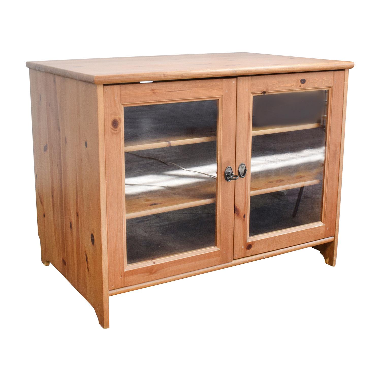 74 OFF  IKEA IKEA LEKSVIK TV Cabinet  Storage