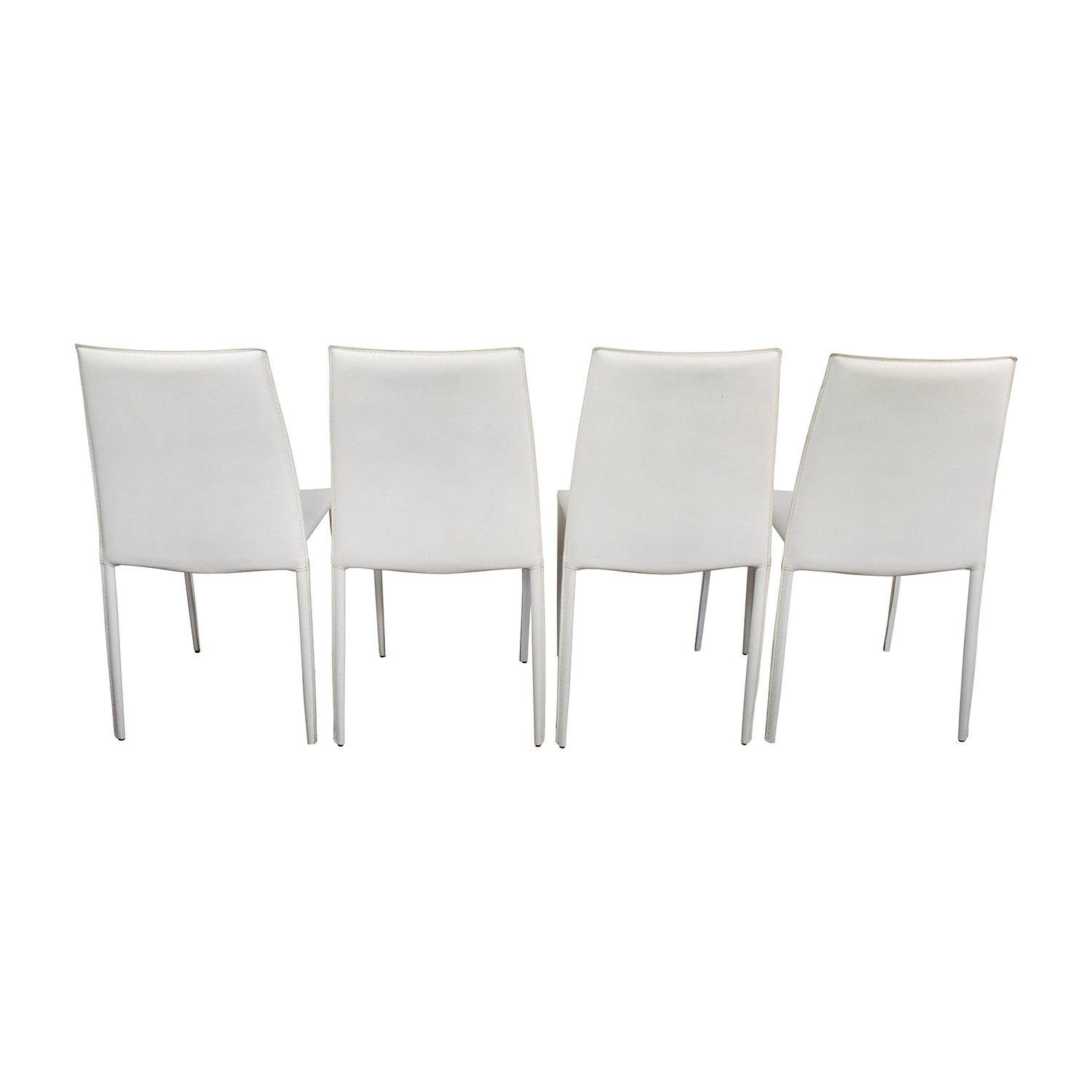 all modern leather dining chairs posture executive chair 77 off white