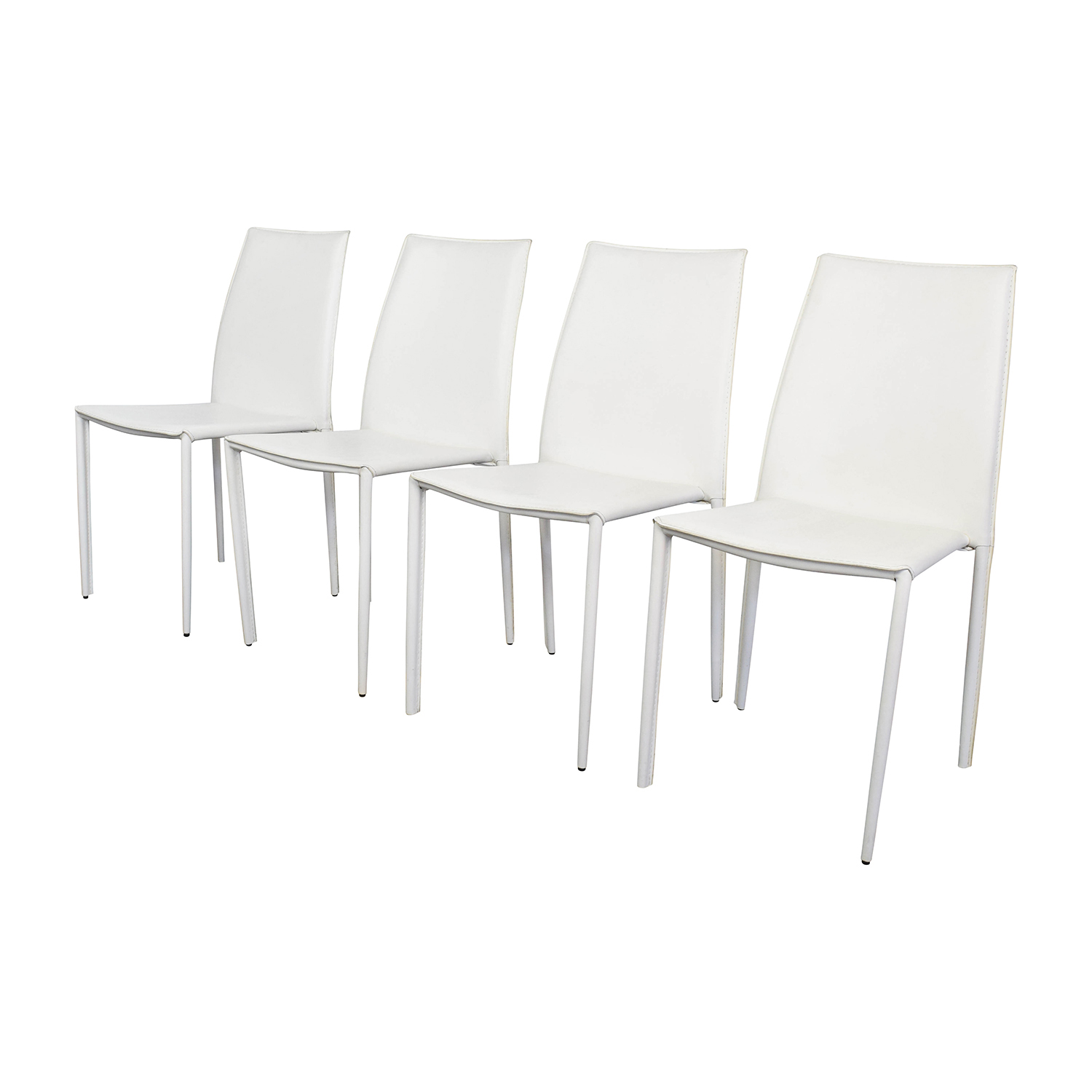 all modern leather dining chairs what is a chairperson in meeting 77 off white