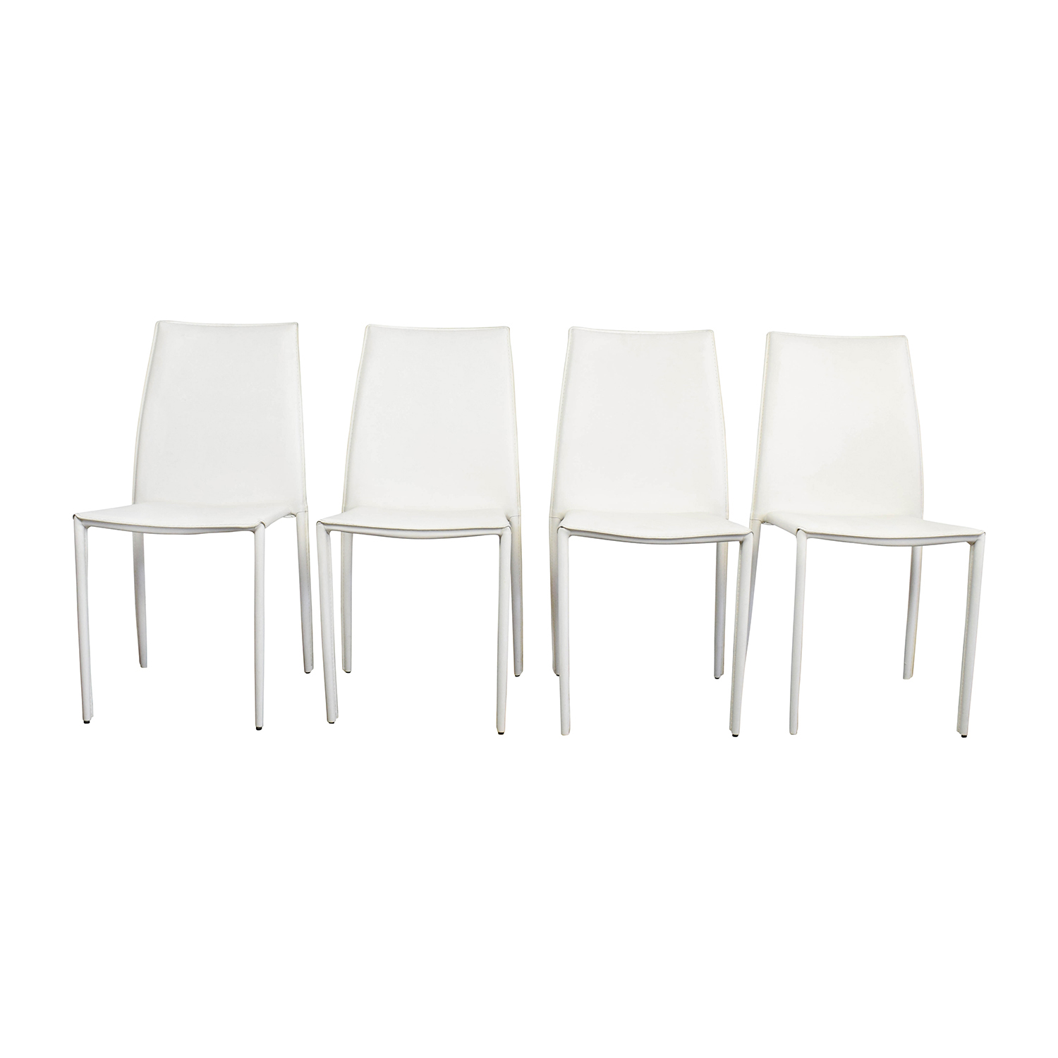all modern leather dining chairs rolling chair parts 77 off white