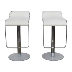 All Modern Chairs Pier One Rattan 88 Off White Leather Bar Stools