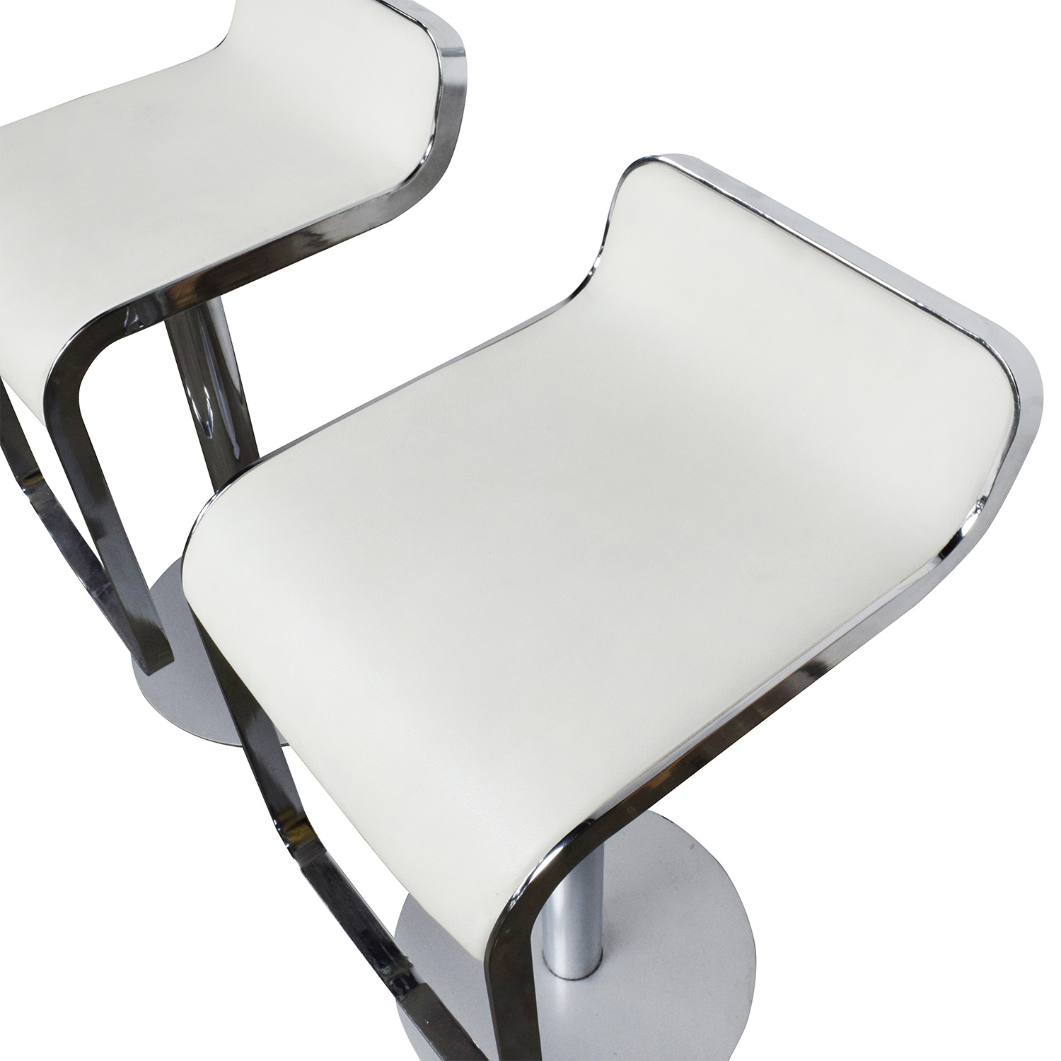 all modern chairs chair covers for hire port elizabeth 88 off white leather bar stools