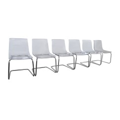 Ghost Chairs For Sale Chair Design Engineering 51 Off Ikea Tobias