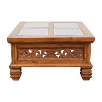 Carved Coffee Table - Frasesdeconquista.com