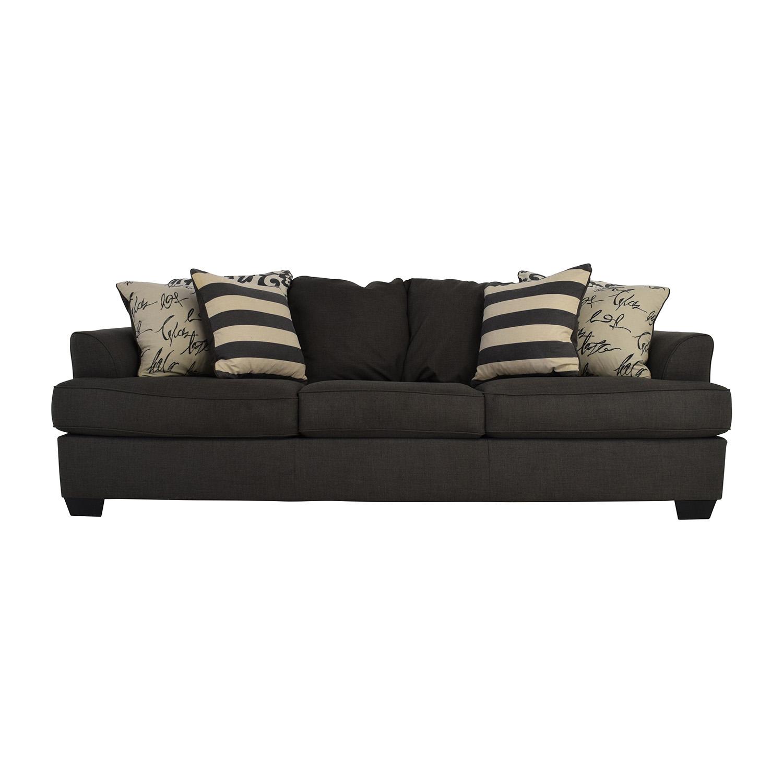 navasota charcoal sofa ashley furniture t cushion slipcover bed bath and beyond sofas hariston by
