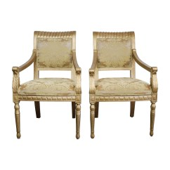 Rustic Accent Chairs Chair Covers In Spanish 80 Off Gold Upholstered Arm