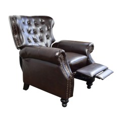 Leather Recliner Chairs On Sale Eames Chair Ebay 58 Off Tufted Brown
