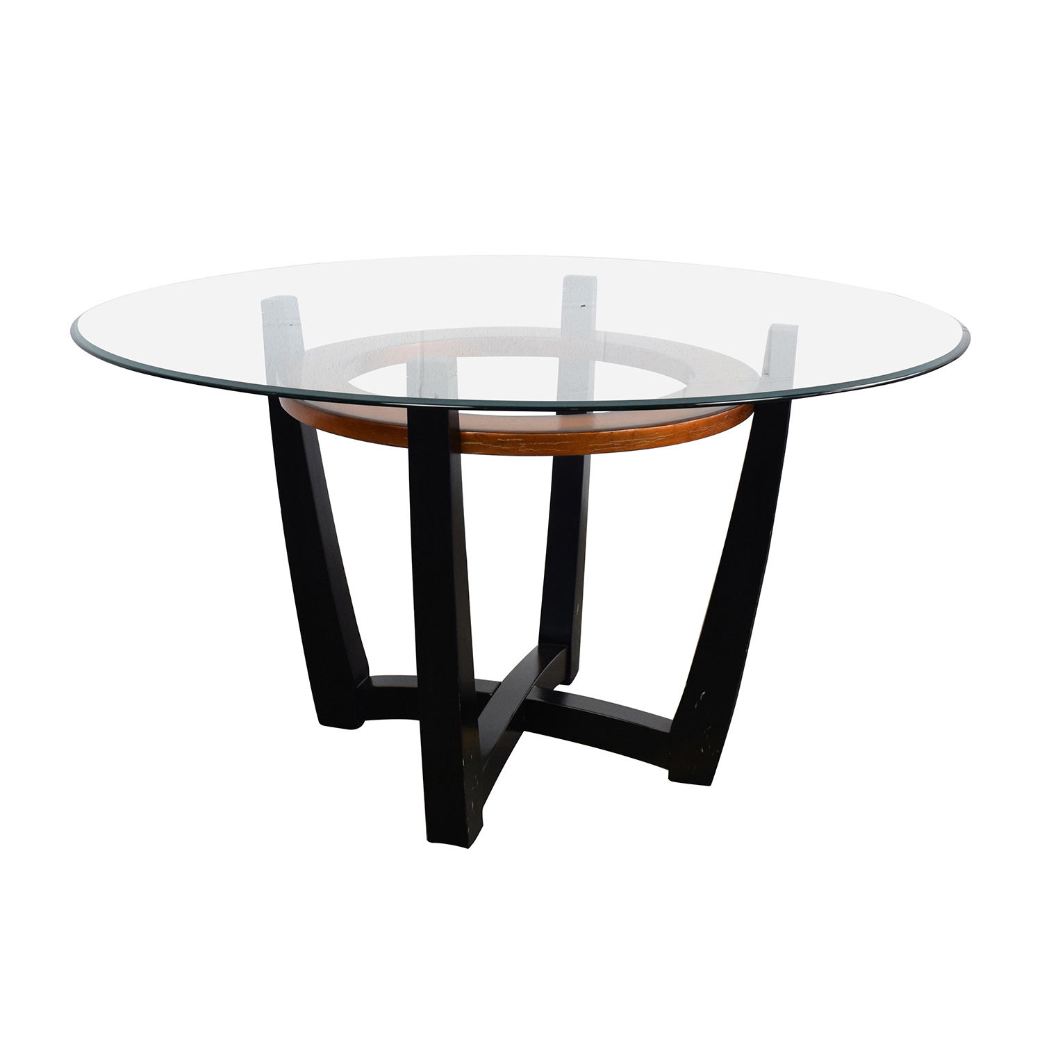 round glass kitchen tables desing 88 off macy 39s elation dining table