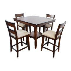 Macys Dining Chairs Ikea Toddler Table And 66 Off Macy 39s Branton 5 Pc Counter Height