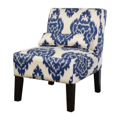 Cheap Hand Chair Retro Classic White Accent Chairs 52 Off Overstock Blue And