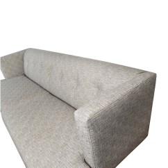 Tufted Gray Sofa Storage Box 2 Seat Bed 62 Off Cb2 Avec Sofas
