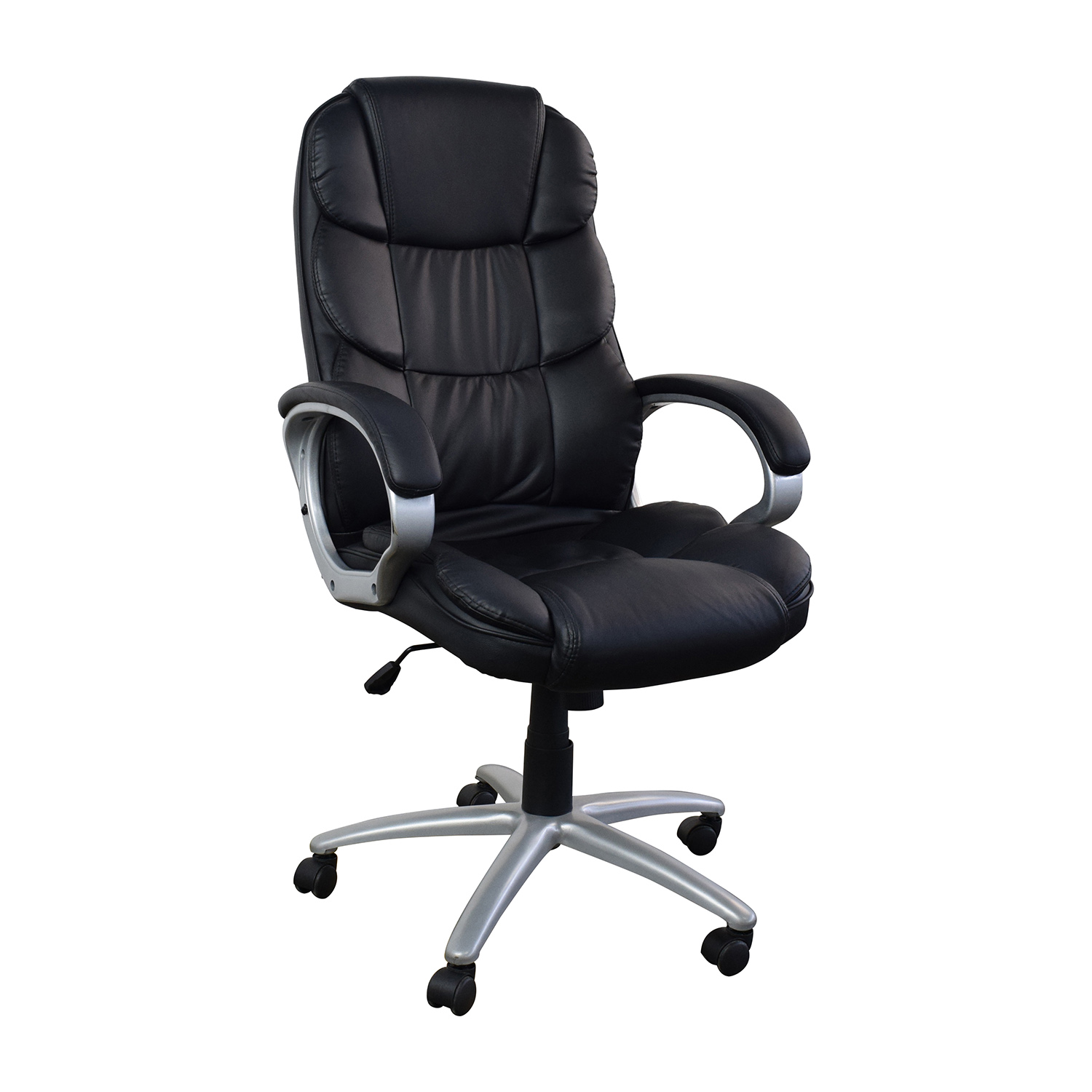 Leather Office Chairs 57 Off Black Leather Executive Office Chair Chairs