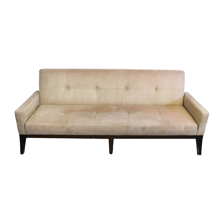 crate and barrel verano sofa smoke porto rattan garden or conservatory furniture corner set 71 off jennifer convertibles