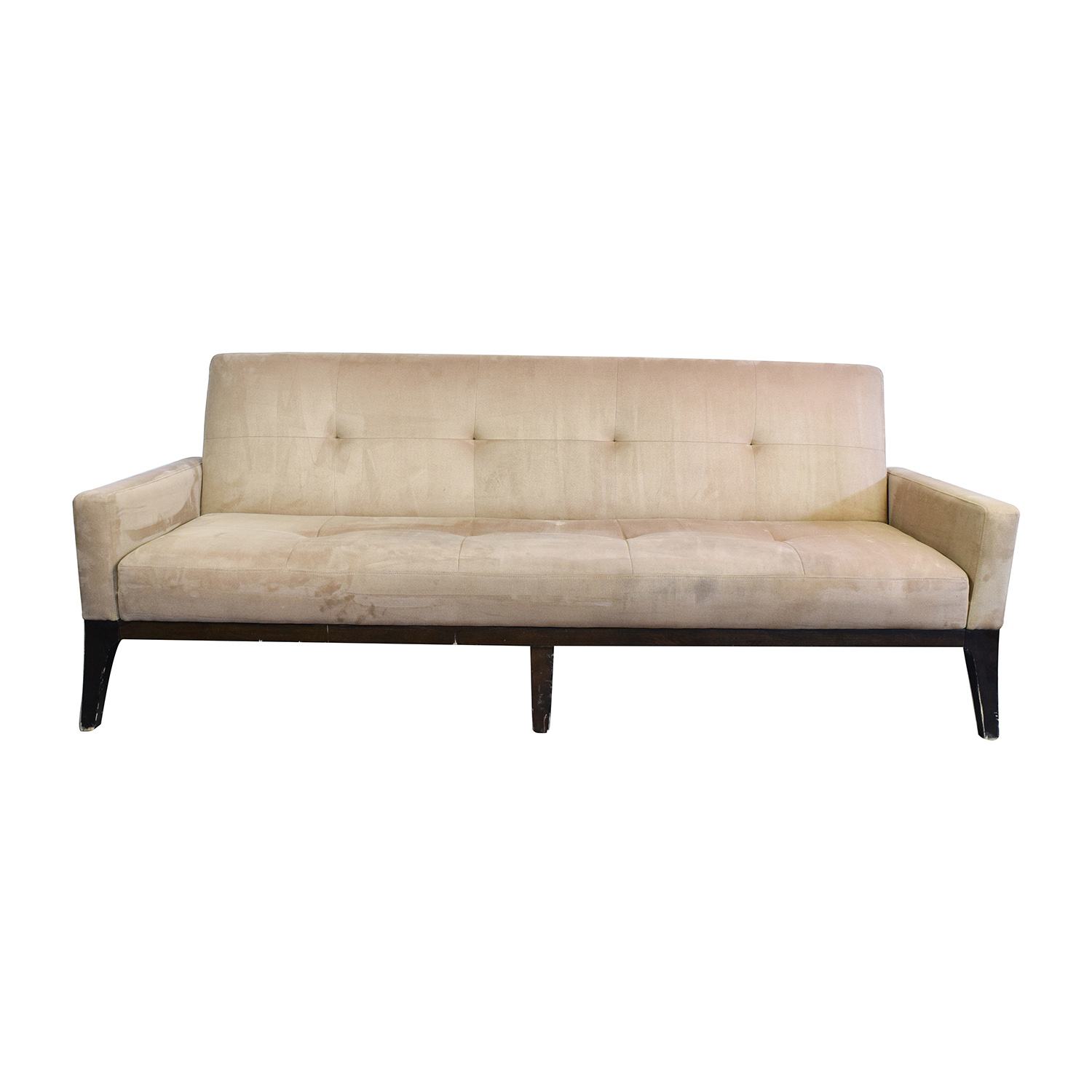 crate and barrel leather sofa bed how to make a mattress more comfortable beige futon furnitures fresh best 25