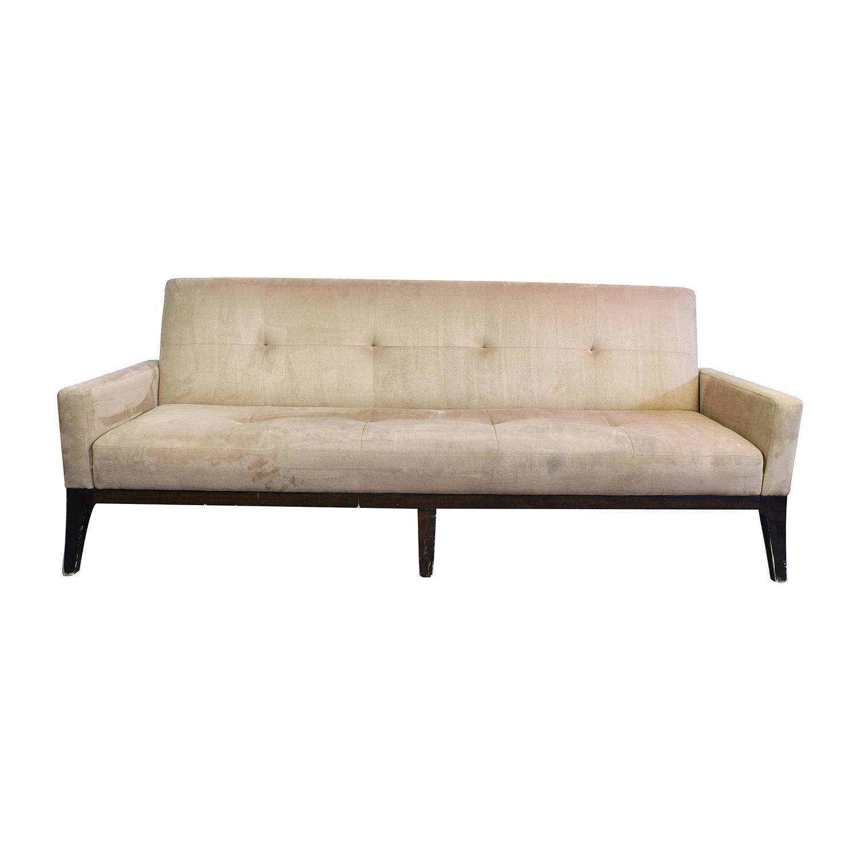 crate and barrel sleeper sofa sheet sets futon roselawnlutheran