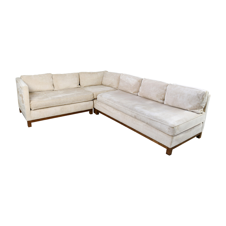 mitchell gold sectional sofa velvet sofas ireland 76 off and bob williams